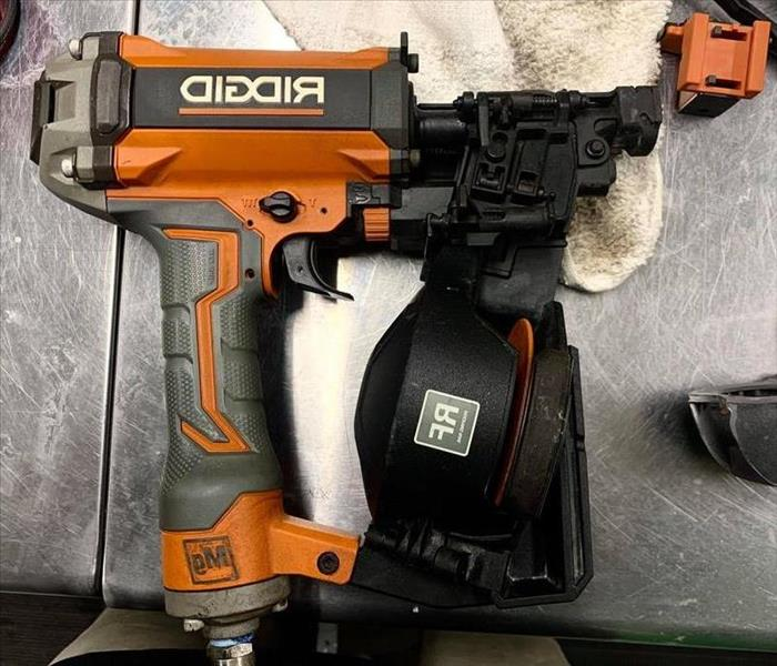 Cleaned/restored nail gun